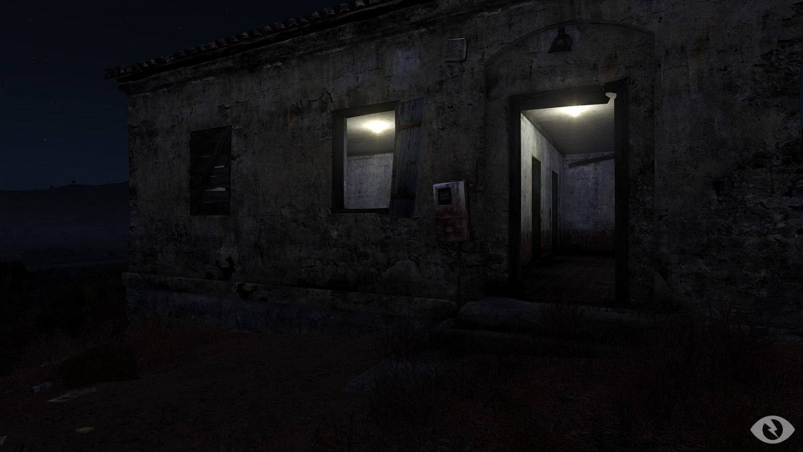 Verfallenes Haus auf Altis