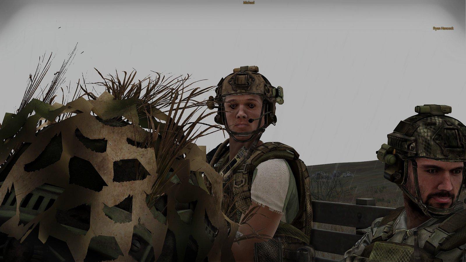Gesicht des Krieges