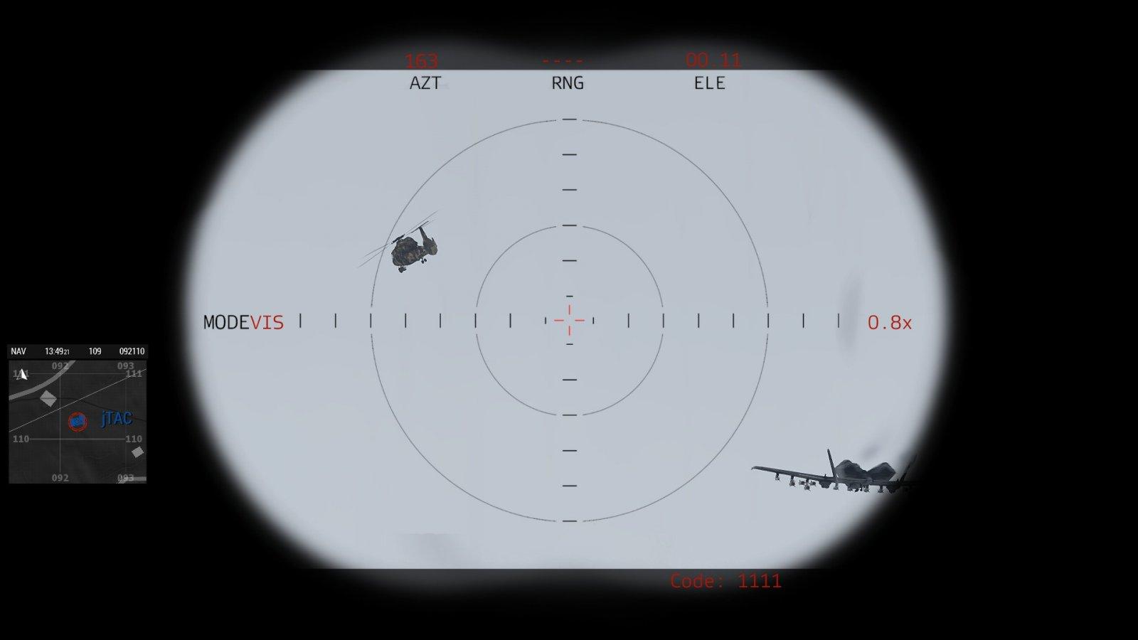 Warhawk nimmt den Bandit ins Visier