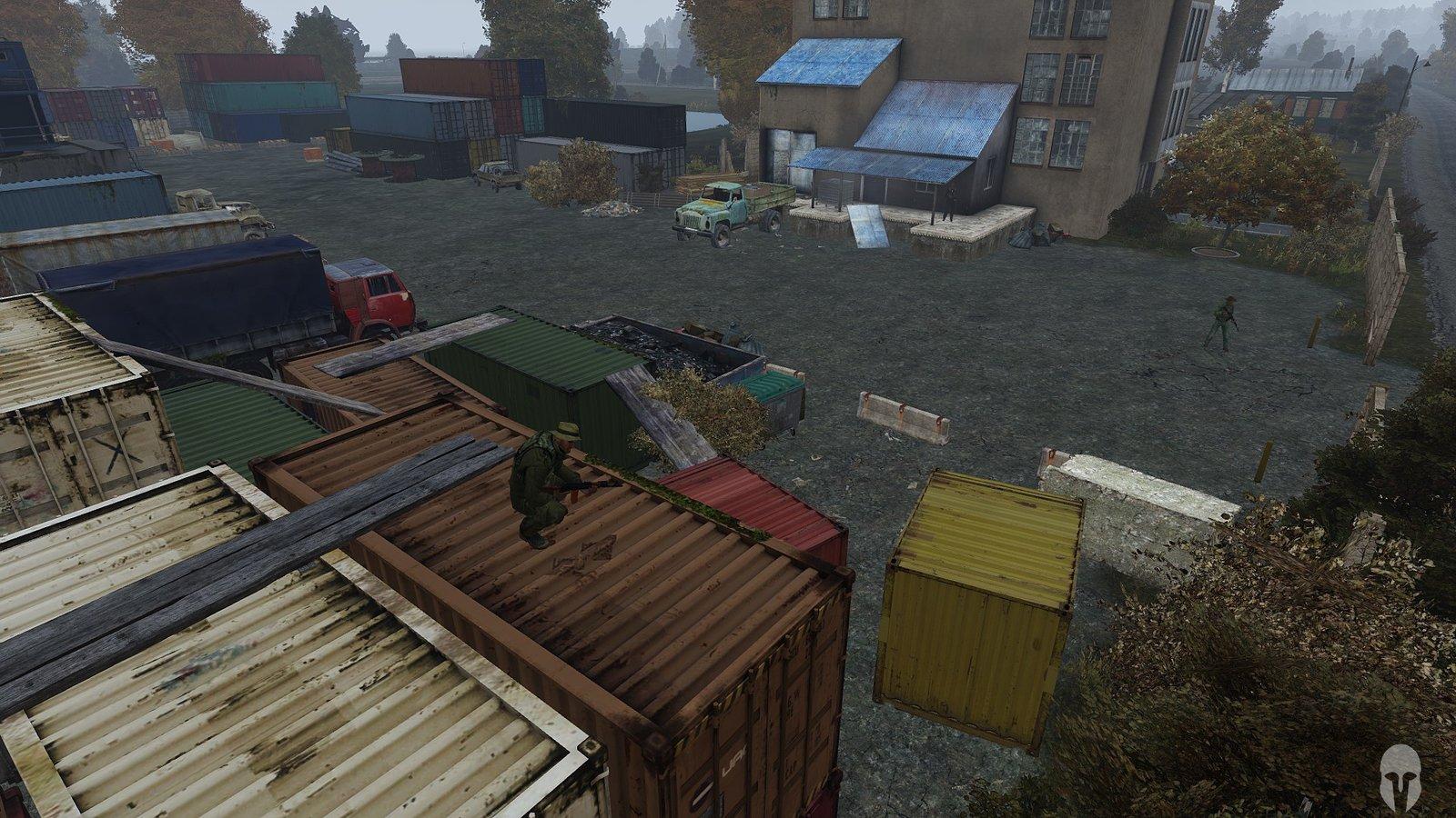 Überlebendenlager bei Chernogorsk