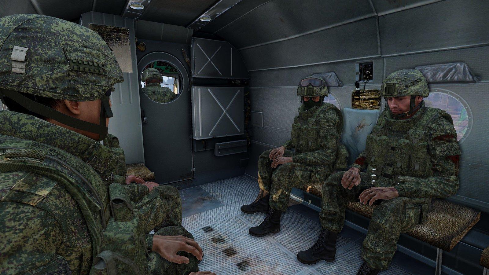 Verschnaufspause im MI-8 Lufttaxi
