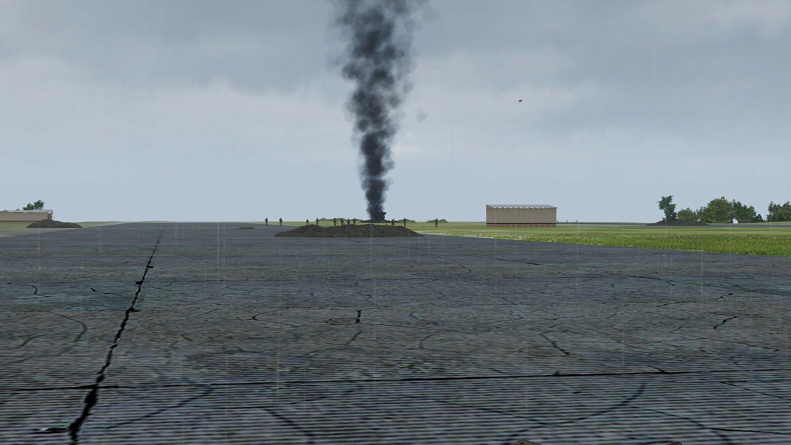 Angriff auf das Flugfeld