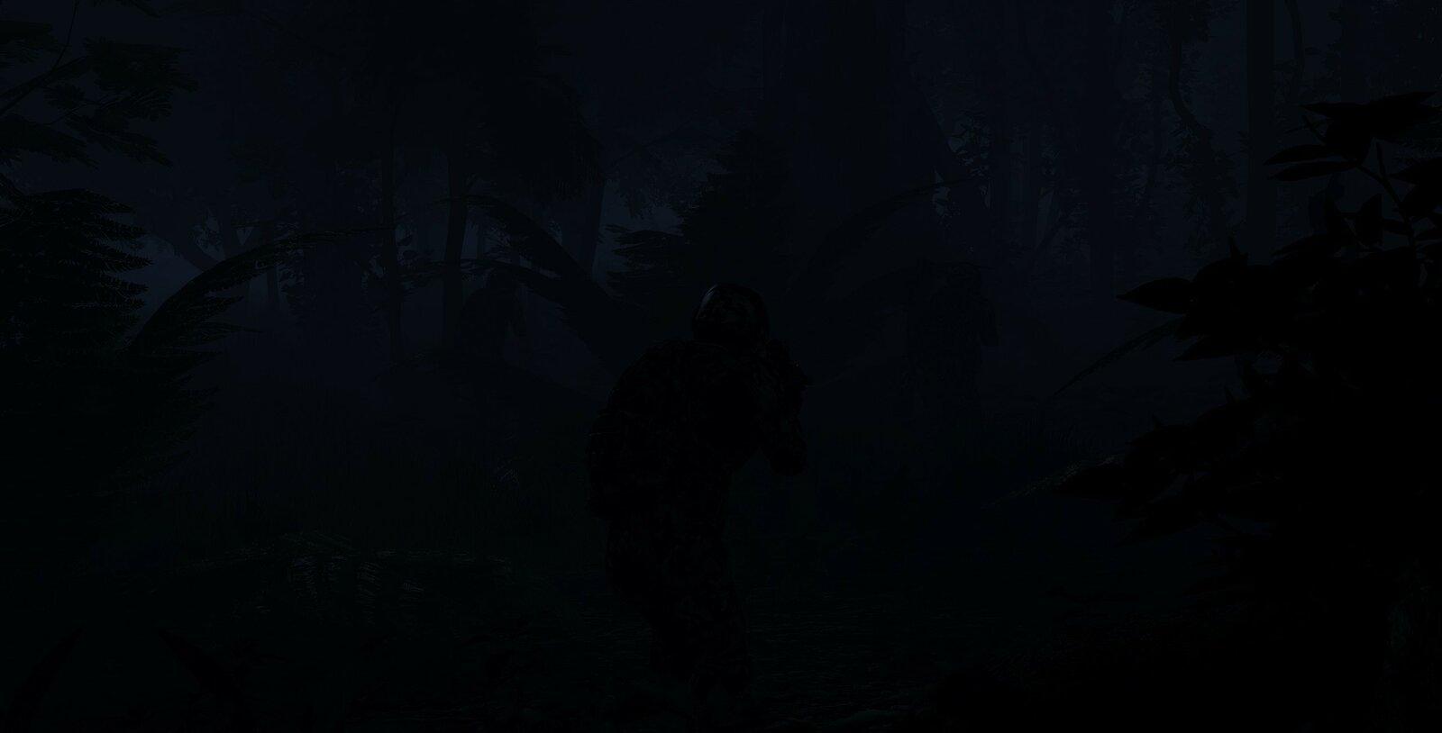 Im Schatten durch den Nebel, kommen sie mit dem Knebel