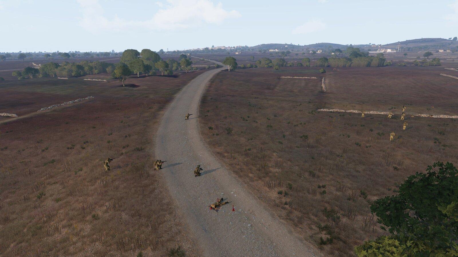 A2 macht Gelände zum Feind wett